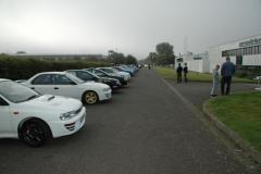 Subaru Impreza WRX 20th Birthday at Prodrive